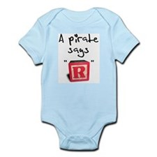 """A pirate says """"R"""" Infant Creeper"""