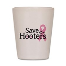 Save the hooters Shot Glass
