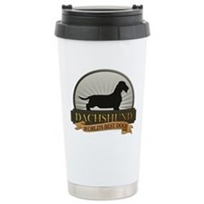 Dachshund [wire-haired] Ceramic Travel Mug
