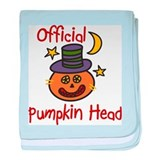 Official Pumpkin Head baby blanket