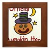Official Pumpkin Head Framed Tile