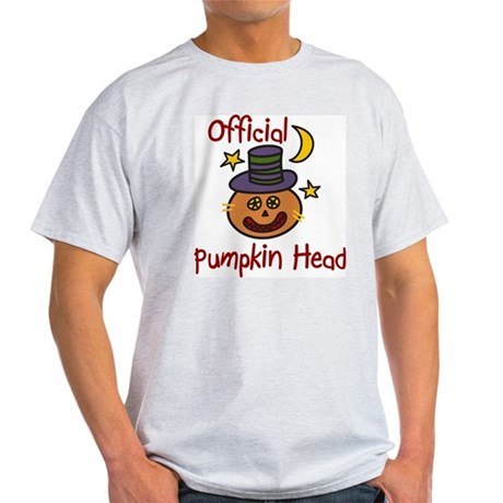 Official Pumpkin Head Light T-Shirt