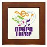 Opera Lover Gift Framed Tile