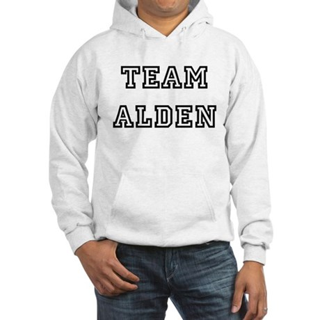 TEAM ALDEN T-SHIRTS Hooded Sweatshirt