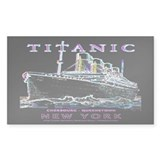 Titanic Neon (black) Decal