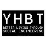 YHBT Rectangle Decal