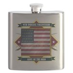 9th Indiana (Diamond).png Flask