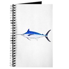 Blue Marlin fish Journal