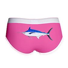 Blue Marlin fish Women's Boy Brief