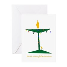 UU Christmas Tree Greeting Cards (Pk of 10)