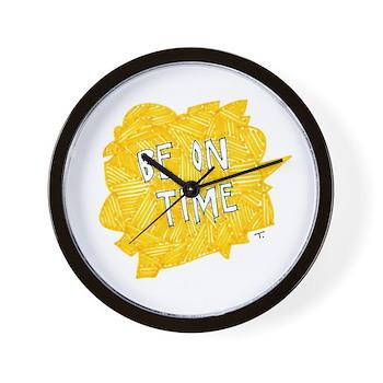 Make an Impression Wall Clock