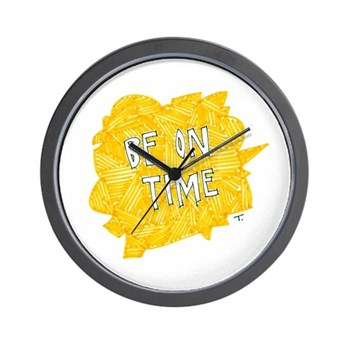 Make an Impression Wall Clock