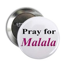 "Pray for Malala 2.25"" Button"