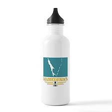 Sakhalin Oblast Flag Water Bottle