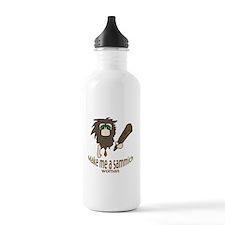 Caveman sammich Water Bottle