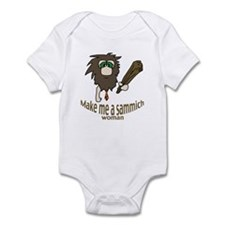 Caveman sammich Infant Bodysuit