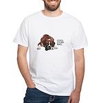 Cool Story Boxer White T-Shirt