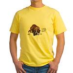 Cool Story Boxer Yellow T-Shirt