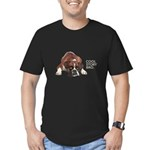 Cool Story Boxer Men's Fitted T-Shirt (dark)