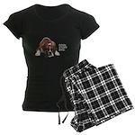 Cool Story Boxer Women's Dark Pajamas