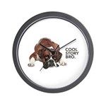 Cool Story Boxer Wall Clock