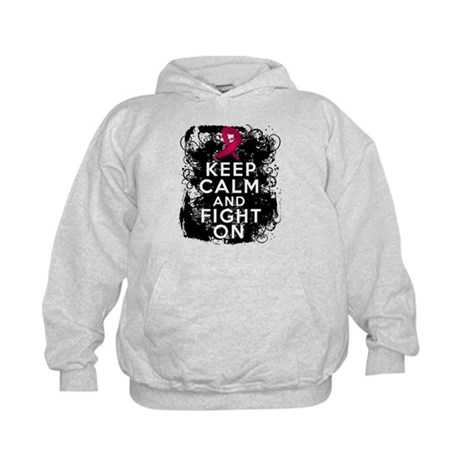 Multiple Myeloma Keep Calm and Fight On Kids Hoodi