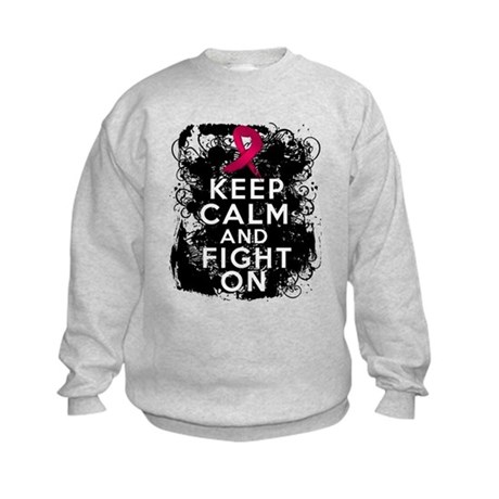 Multiple Myeloma Keep Calm and Fight On Kids Sweat