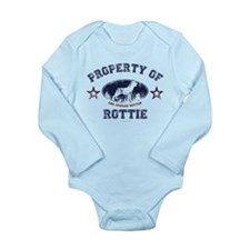 Rottie Long Sleeve Infant Bodysuit