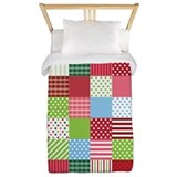 Christmas Patchwork Twin Duvet