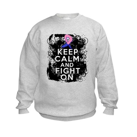 Male Breast Cancer Keep Calm and Fight On Kids Swe