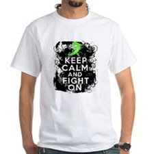 Lymphoma Keep Calm and Fight On Shirt