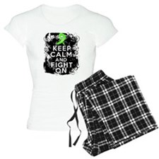 Lymphoma Keep Calm and Fight On Pajamas