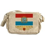 Samara Oblast Flag Messenger Bag
