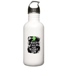 Lyme Disease Keep Calm and Fight On Water Bottle