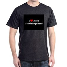I Heart Nice Jewish Queers T-Shirt