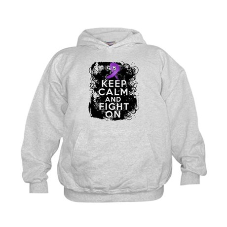 Lupus Keep Calm and Fight On Kids Hoodie