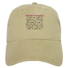 Malala's Rights Baseball Cap
