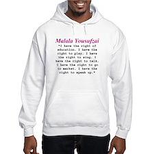Malala's Rights Hoodie