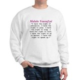 Malala's Rights Sweatshirt