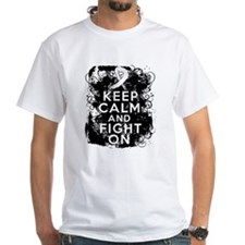 Lung Cancer Keep Calm and Fight On Shirt