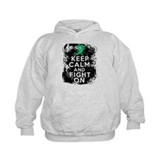 Liver Disease Keep Calm and Fight On Hoodie