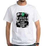 Liver Cancer Keep Calm and Fight On Shirt