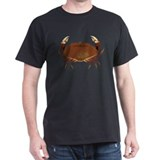 Crab Black T-Shirt