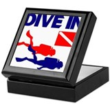 Dive In T-shirt Keepsake Box