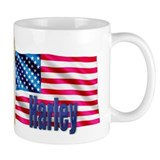 Harley Personalized USA Flag Mug