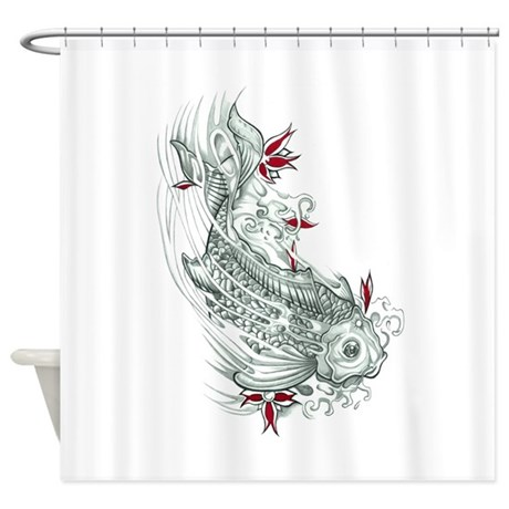 Japanese Shower Curtains | Japanese Fabric Shower Curtains - CafePress