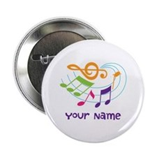 Personalized Music Swirl 2.25