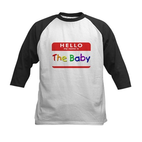 The Baby Kids Baseball Jersey