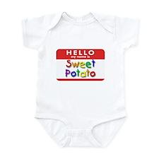 Sweet Potato Infant Creeper