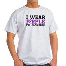 Think Purple Pancreatic Cancer T-Shirt